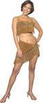 Sexy Suede Leather Sacagawea Indian Costume