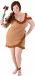 Women's Plus Size Indian Girl Costume