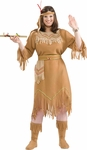 Women's Plus Size Indian Maiden Costume