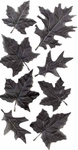 Fake Black Autumn Leaves