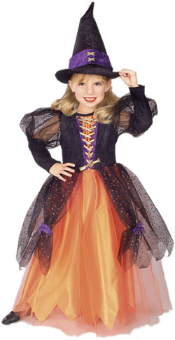 Child's Pretty Witch Costume