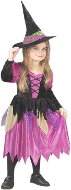 Toddler Rainbow Witch Costume