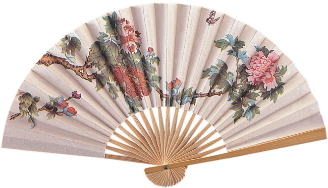 Geisha Hand Held Fan
