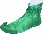 Adult Green Cloth Elf Shoes