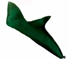 Adult Green Felt Elf Shoes