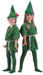 Child's Peter Pan Costume