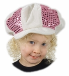 Child's Pink Disco Hat