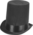 Adult Deluxe Abe Lincoln Stove Pipe Hat