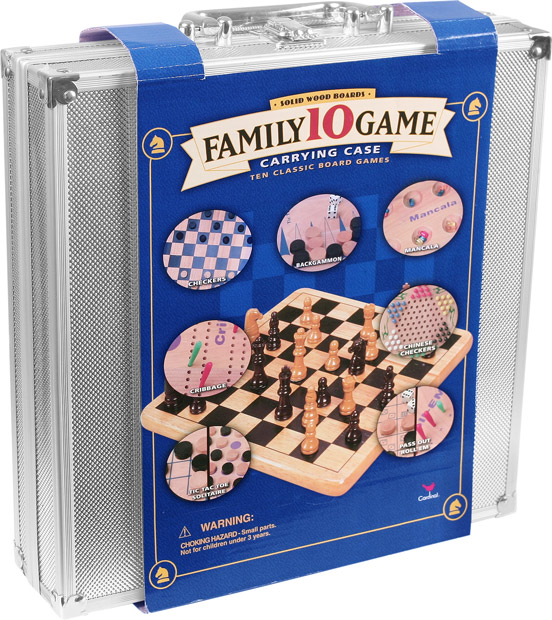 10 in 1 Family Board Game Set