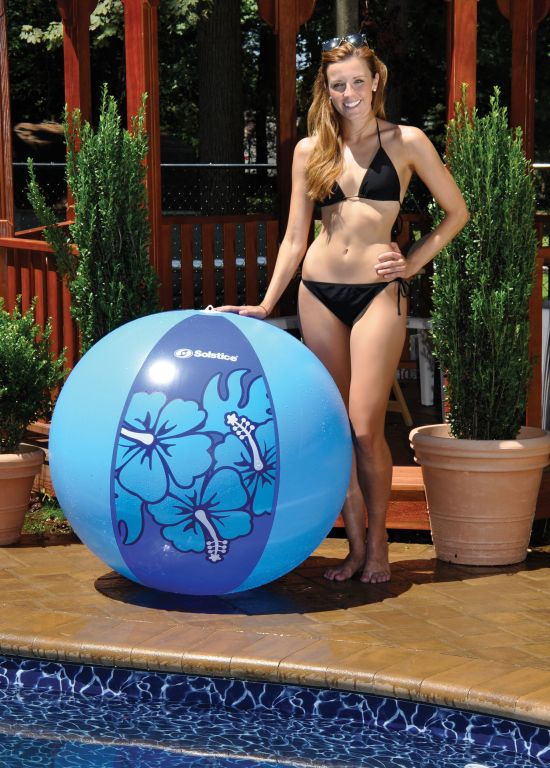 Hibiscus Aloha Giant Beach Ball 48""