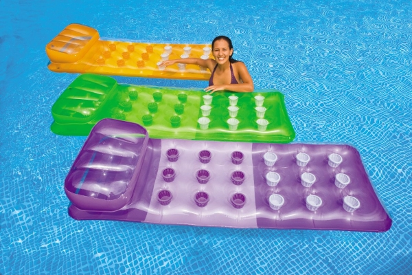 Colorful Inflatable Raft with Pockets