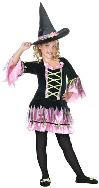 Child's Blossom Witch Costume