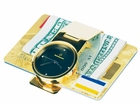 Steinhausen Gold Money Clip Watch