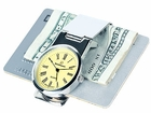 Steinhausen Silver Money Clip Watch