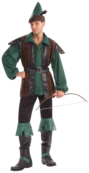 Adult Plus Size Merry Man Robin Hood Costume