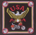 Eagle Motorcycle Bandanas
