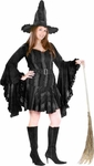 Women's Plus Size Sexy Stitch Witch Costume