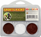 Burgundy, White, Burgundy Face Paint Kit for Sports Fans