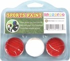 Red, White, Red Face Paint Kit for Sports Fans