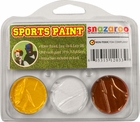 Yellow, White, Maroon Face Paint Kit for Sports Fans