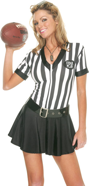 Sexy Referee Outfit Costume