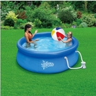 "Quick Set Ring Pool, 8' x 30"" with 580 GPH Filter Pump"