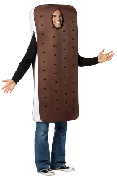 Adult Ice Cream Sandwich Costume