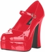 Sexy Red Platform Costume Shoes
