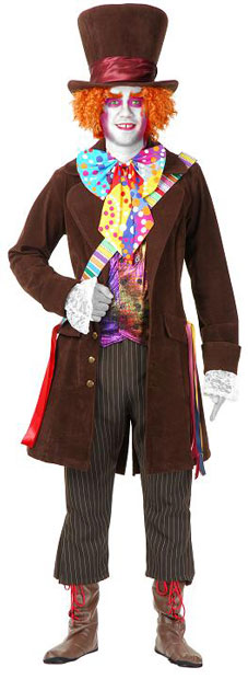 Child's Electric Mad Hatter Costume