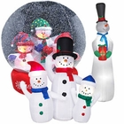 Inflatable Snowmen