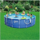 Summer Escapes Round Frame Pools