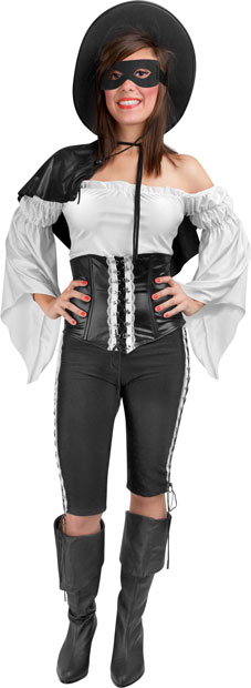 Adult Women's Zorro Costume