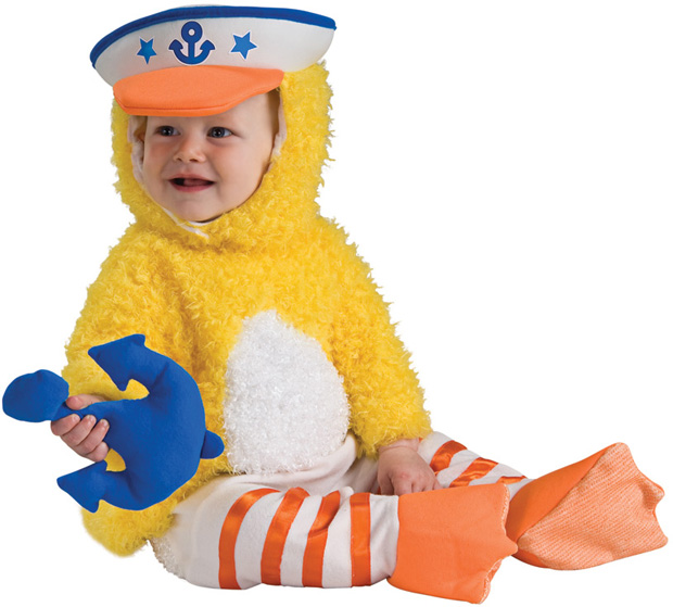 Baby Cute Rubber Ducky Costume