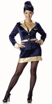 Deluxe Airline Stewardess Costume