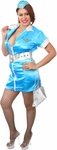 Plus Size Sexy Flight Attendant Costume