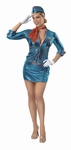 Sexy Deluxe Pan Am Stewardess Costume