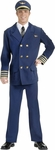 Adult Airline Captain Uniform Costume