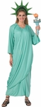 Adult Green Statue of Liberty Costume