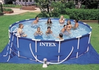 Intex 15 x 42 Metal Frame Pool Set