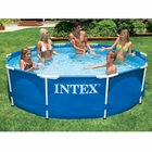 "Intex Round Metal Frame Set 10' x 30"" Pool"