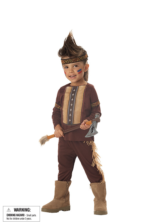 Child's Indian Warrior Costume