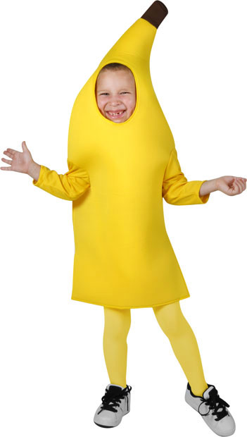 Child's Deluxe Banana Costume
