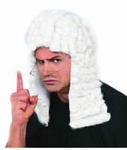 Barrister Judge Costume Wig