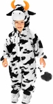 Child's Plush Cow Costume