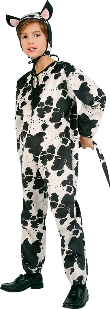 Child's Cow Jumpsuit Costume