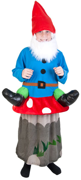 Child's Gnome Mushroom Costume