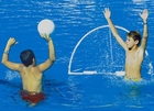 Floating Pool Water Polo Game