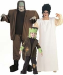 Frankenstein and Bride Costumes
