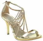 Gold Cleopatra Shoes
