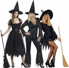 Classic Black Witch Costumes